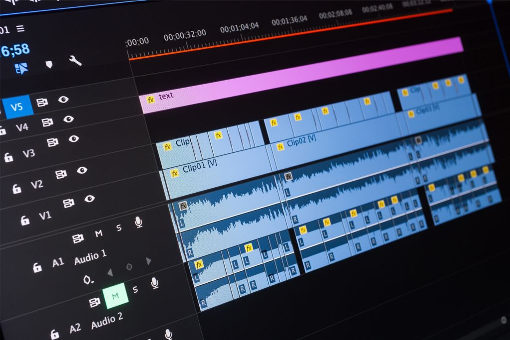 Video editing su un computer