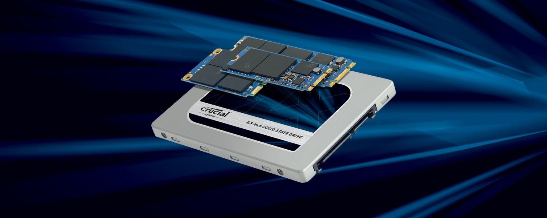 SSD Crucial in diversi fattori di forma