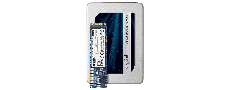 Linea Crucial SSD MX300